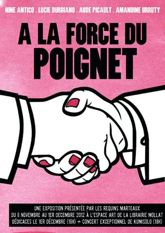 Amandine-Urruty - Nine Antico - Lucie Durbiano - Aude Picault - A la force du Poignet