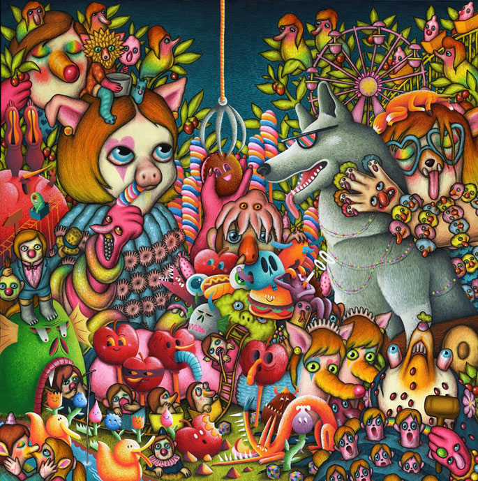 Amandine Urruty - Nicolas Barrome - Frivolurium