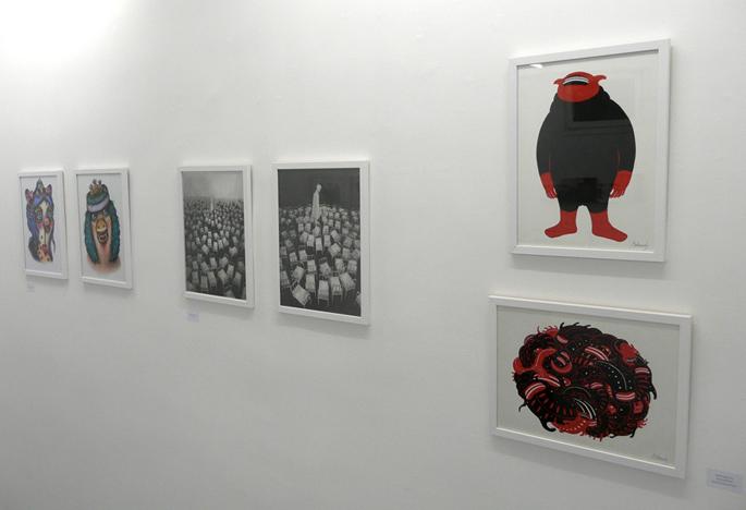 Amandine Urruty - Quarante par Trente - Galerie LJ