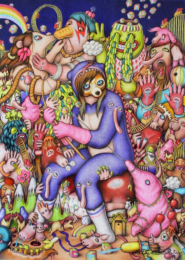 Amandine Urruty - Violet