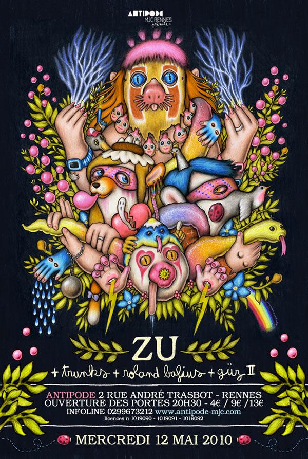 Amandine Urruty - Zu poster