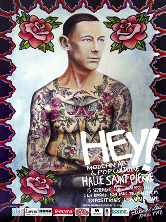 Hey ! - Exposition - Halle Saint Pierre - Paris