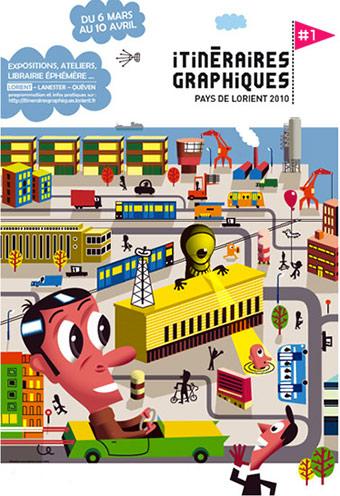 Itineraires Graphiques - Lorient - 2010