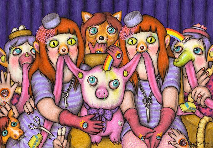 Amandine Urruty - Violet Twins