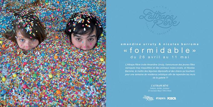 Amandine Urruty - Nicolas Barrome - Formidable
