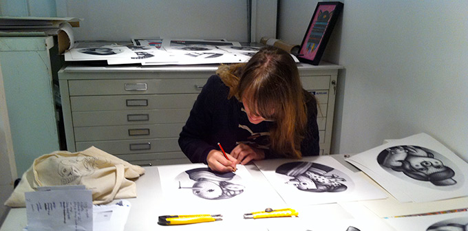Amandine Urruty - Sergeant Paper - New prints !