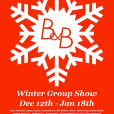 B&B Winter Group Show – Sheffield