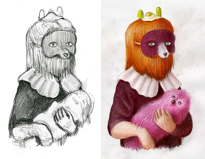 Noveno Asalto - Zaragoza - Amandine Urruty - Sketches