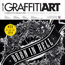 In Graffiti Art Magazine #23 !