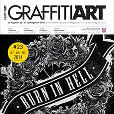 In Graffiti Art Magazine #23 !