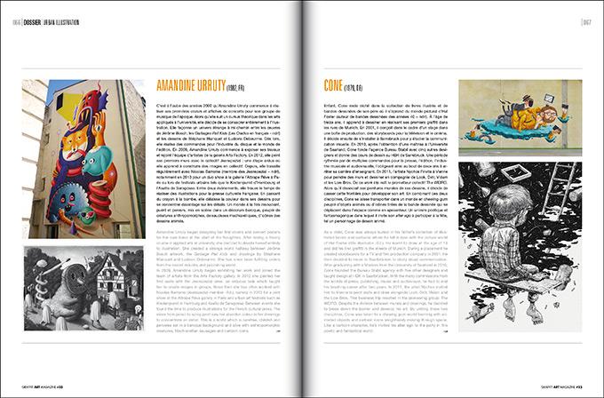 Amandine Urruty - Graffiti Art Mag #23
