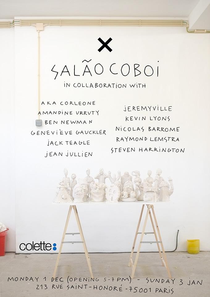 Salao Coboi - X - Collab Show - Colette - Paris