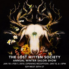 The Lost Mitten Society @ Jonathan LeVine Gallery – NYC