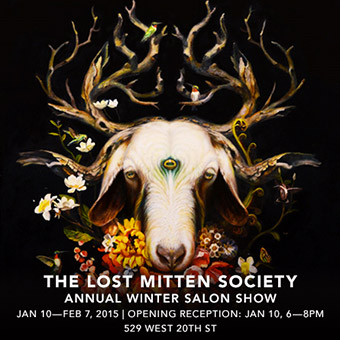 Jonathan LeVine Gallery - The Lost Mitten Society Group Show
