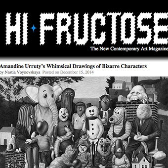 Amandine Urruty on Hi-Fructose's blog