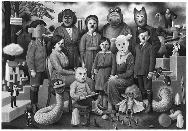 Amandine Urruty - Family Portrait III