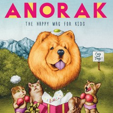 Anorak Magazine – Cover