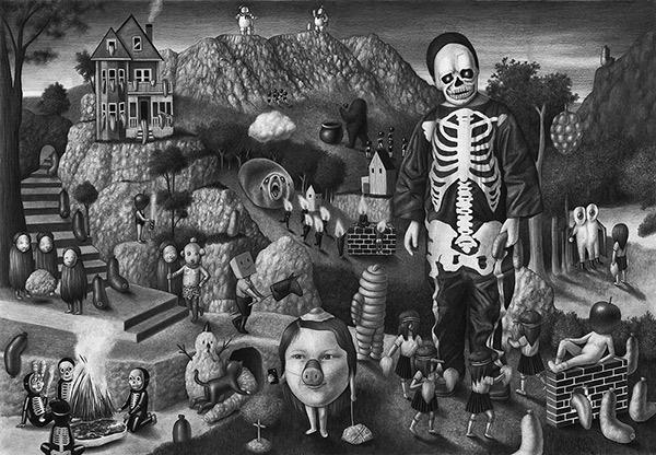 Amandine Urruty - Skeleton