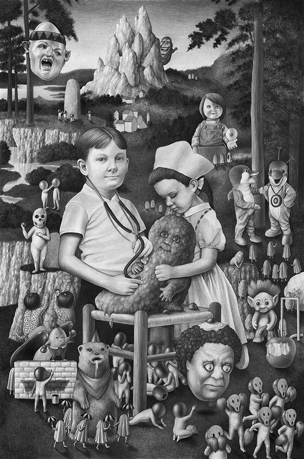 Amandine Urruty - Doll Diptych Part 1