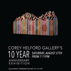 Corey Helford Gallery's 10 years Anniversary Exhibition – LA