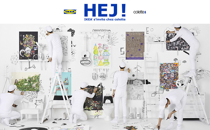 IKEA X COLETTE X AMANDINE URRUTY