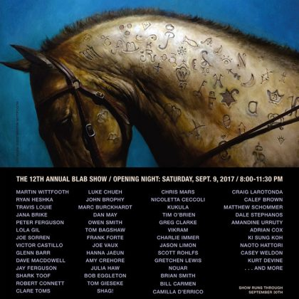 The Blab ! Show - Copro Gallery