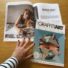 In Graffiti Art Magazine #35 ! Oct-Nov. 2017