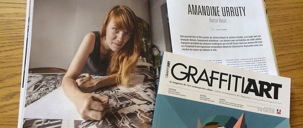 In Graffiti Art Magazine #35 ! Oct-Nov 2017