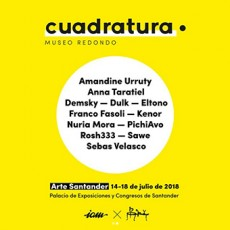 « Cuadratura » Group Show – Santander Art Fair – July 14-17, 2018