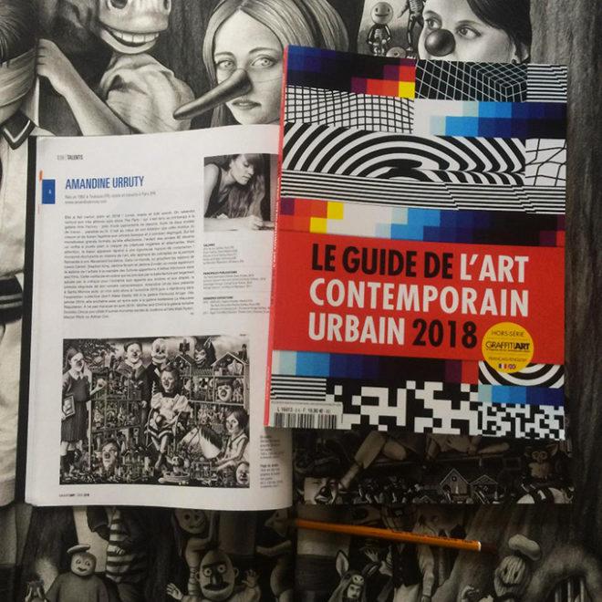 Amandine Urruty - Guide de l'Art Contemporain Urbain 2018