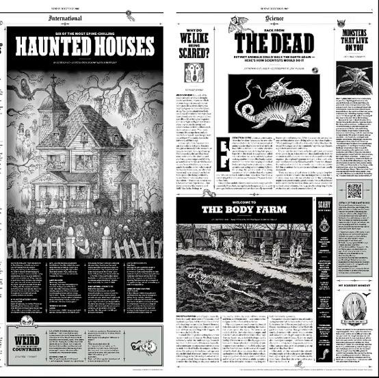 Amandine Urruty - New York Times - Illustrations