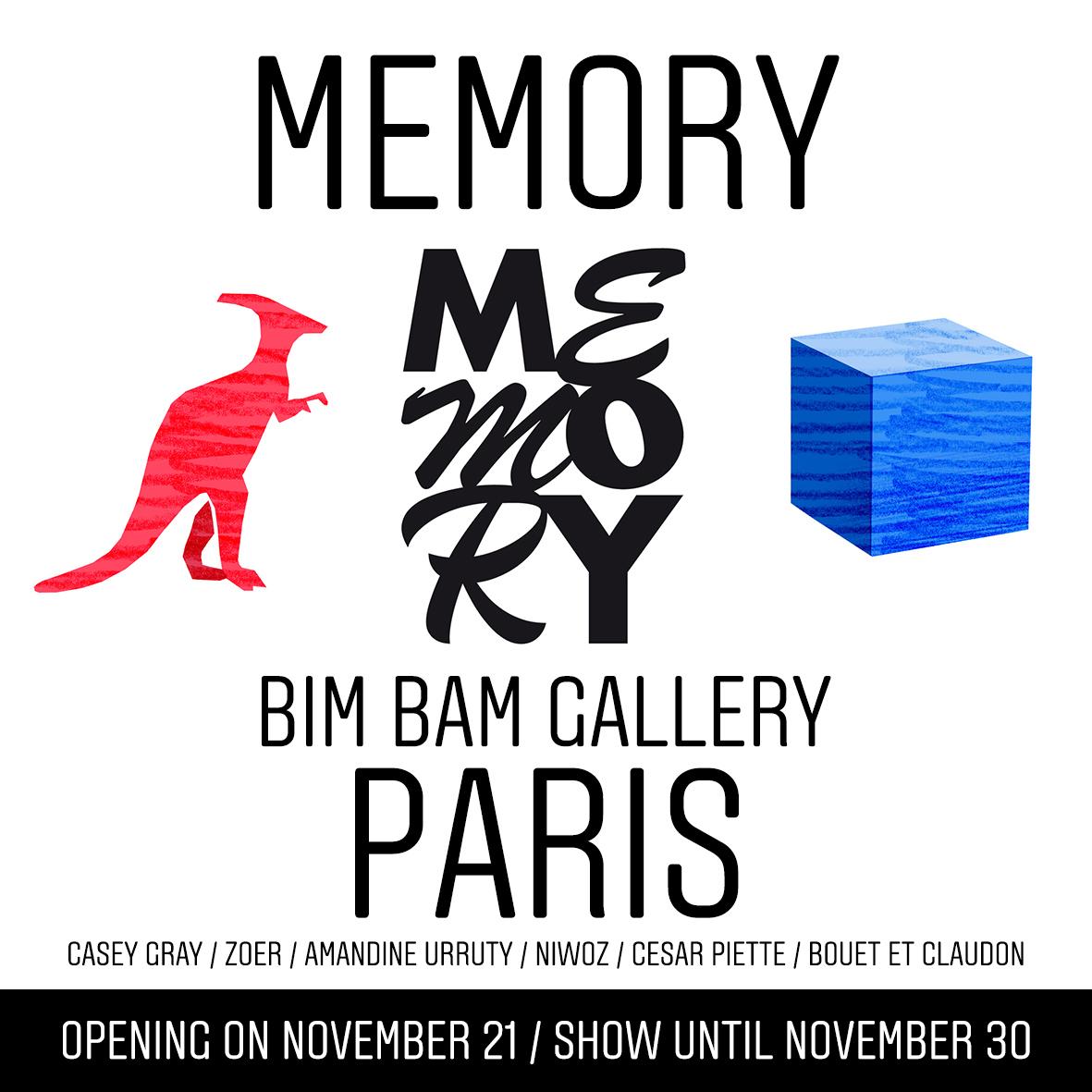 Amandine Urruty - Memory - Bim Bam Gallery