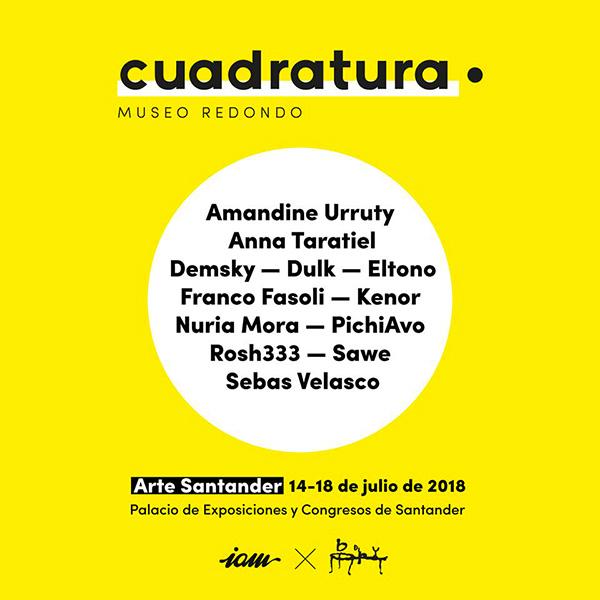 Amandine Urruty - Cuadratura - Santander