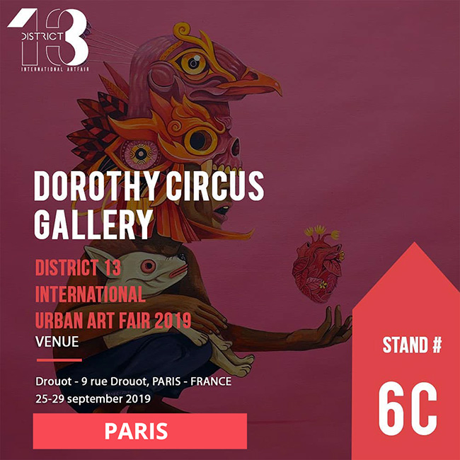 Amandine Urruty - District 13 Art Fair