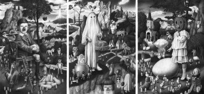 Amandine Urruty - The Egg Triptych