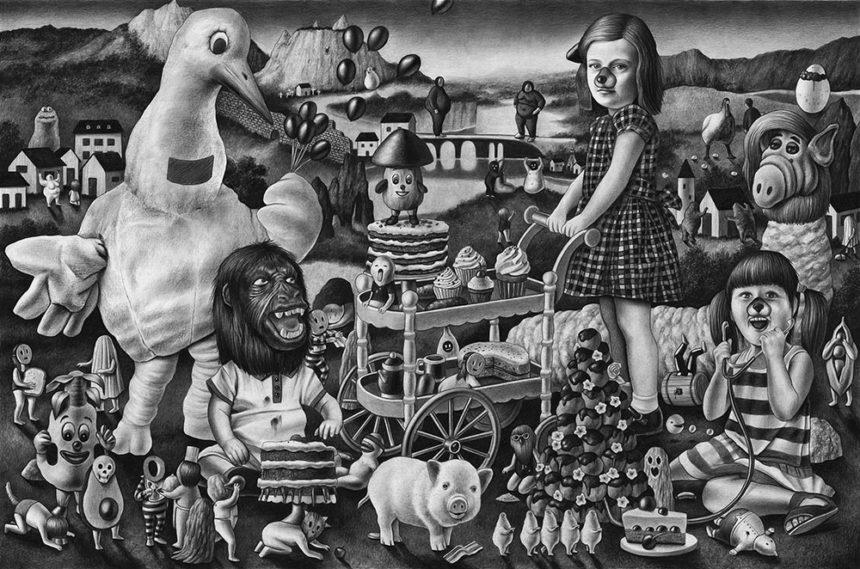Amandine Urruty - Gluttony