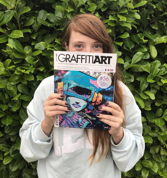Amandine Urruty - Graffiti Art Magazine 56