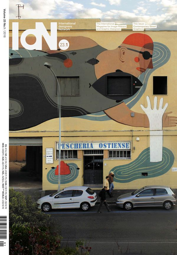 Amandine Urruty - IDN - Contemporary Street Graphics
