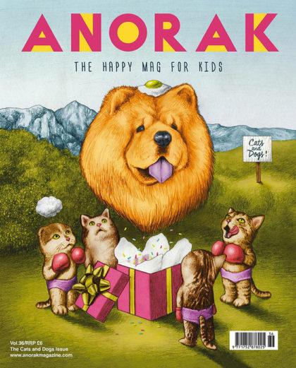 Amandine Urruty - Anorak Magazine Cover