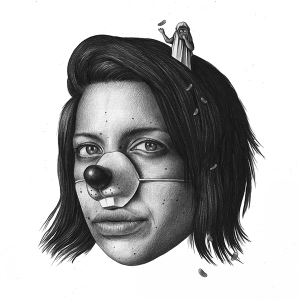 Amandine Urruty - Farah - Beinart Gallery
