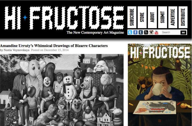 Amandine Urruty - Hi Fructose