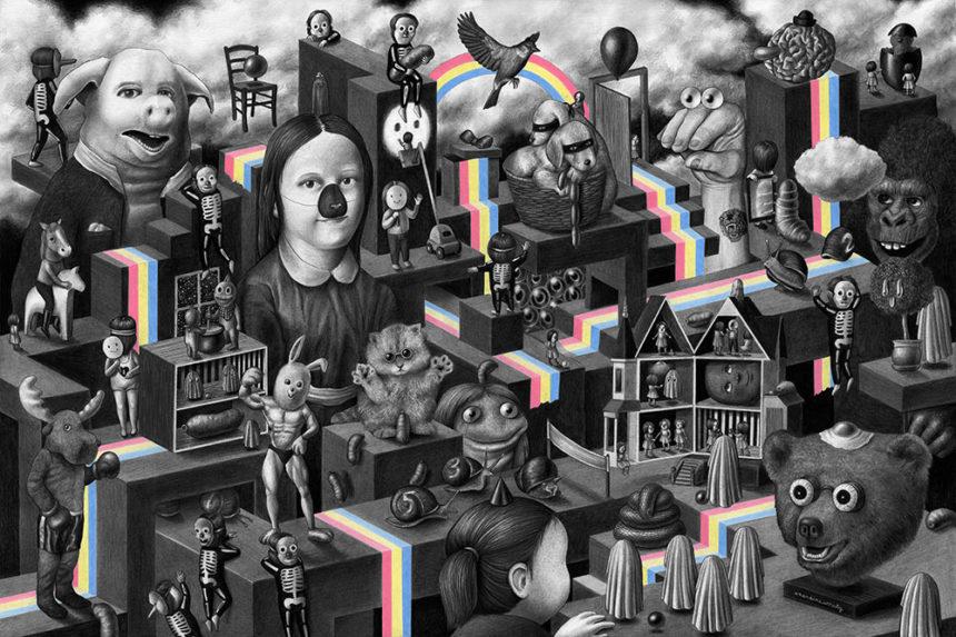 Amandine Urruty - Rainbow