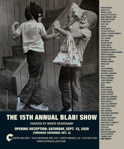 Amandine Urruty -The Blab ! Show - Copro Gallery