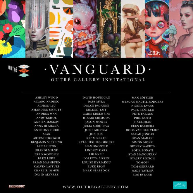 Amandine Urruty - Vanguard - Outre Gallery